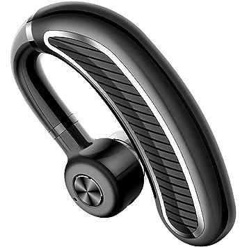 LOVIZA - Auriculares inalámbricos Bluetooth con micrófono para Negocios, Oficina y conducción (24 Horas de Tiempo de música), 32 Horas de Tiempo de ...