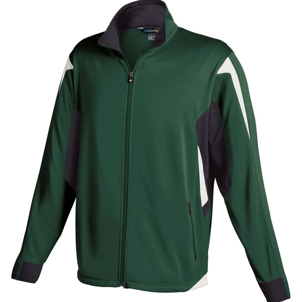 Holloway Youth Dedication Jacket (Small, Forest/Black/White)