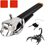 Auto Anti Theft Locking Car Steering Wheel Lock with Keys Security T-Lock Universal Foldable Anti-theft Three-direction Airbag Vehicle Devices