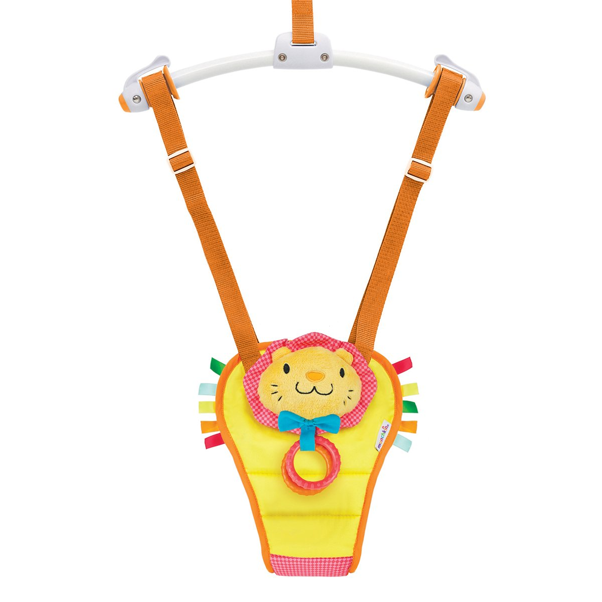 7a1465dd212c Munchkin Bounce and Play Baby Door Bouncer (Lenny the Lion)  Amazon ...