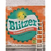 Amazon robert f blitzer books intermediate algebra for college students 7th edition fandeluxe Image collections
