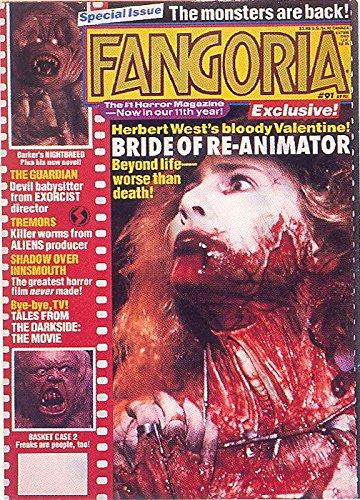 FANGORIA 1992 COMIC IMAGES PROMO CARD SCI FI MAGAZINE