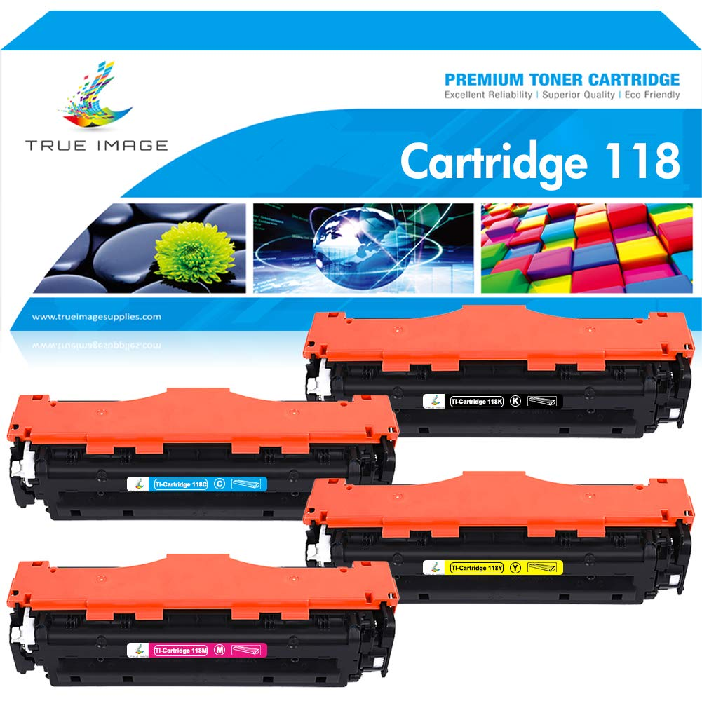 Toner Alternativo ( X4 ) 4 Colores 118 CRG118 MF726CDW MF...