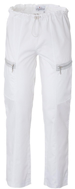 Pantalone Bianco Donna Per Estetista Spa Centro Benessere Sirio MP0107