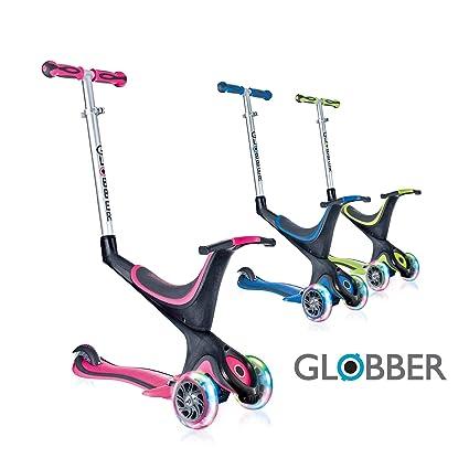 Globber My Free 5 en 1 Roller con Tres Ruedas, Colores a Elegir