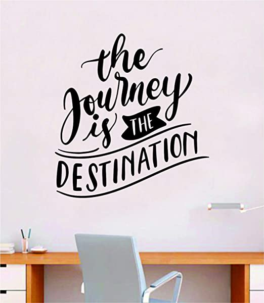 DIY Self Sticking Vinyl Living Room Wall Sticker Inspirational Quote Bedroom Peel and Stick Creative Decal Create Adventure for Yourself
