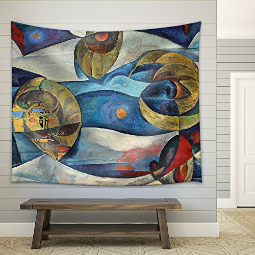 the Art of Abstraction Fabric Wall