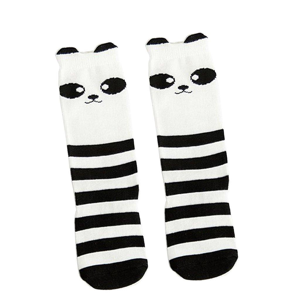 B/éb/é Filles Bas Imprim/é Animal en Coton Chaussettes Collants Genou Mignon Mode Enfants