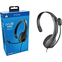 PDP Gaming LVL30 Wired Chat Headset - PlayStation 4, 051-107 - PlayStation 4