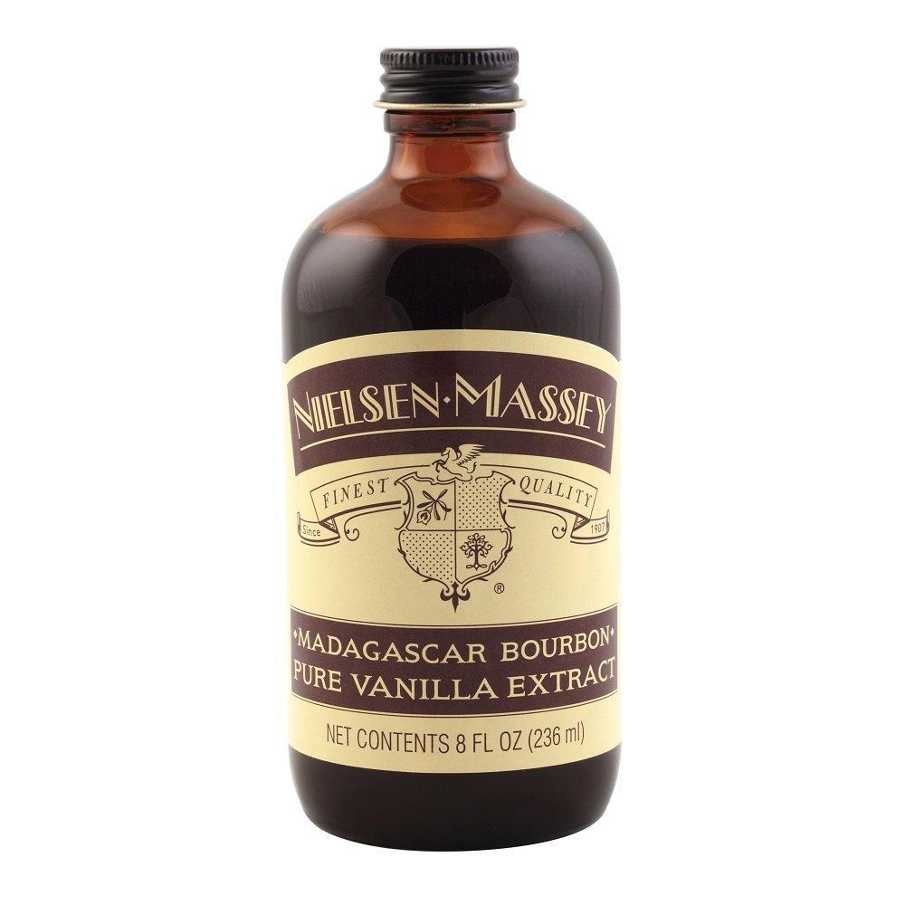 Nielsen-Massey Madagascar Bourbon Pure Vanilla Extract, 8 FL OZ
