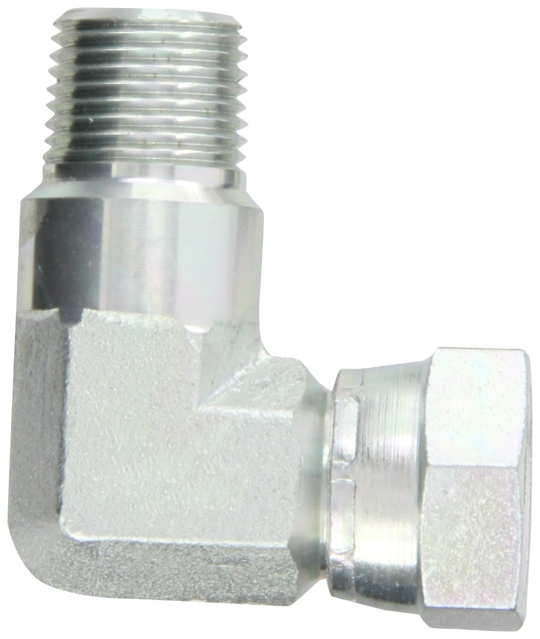 Eaton Aeroquip 2047-6-6S Steel Pipe Fitting 90 Degree Elbow 3//8 NPSM Female x 3//8 NPT Male