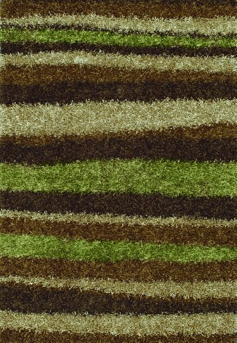 13' Mocha Area Rug - Dalyn Rugs Visions VN 12 Mocha Area Rug, 9-Feet by 13-Feet