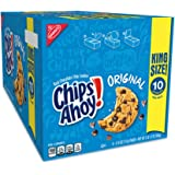 Oreo Chips Ahoy! Chocolate Chip Cookies, 16 King Size Snack Pack (160 Cookies Total)