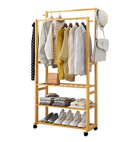 Amazon.com: Coat Racks Stand Floor Coat Rack Hanger Hangers ...