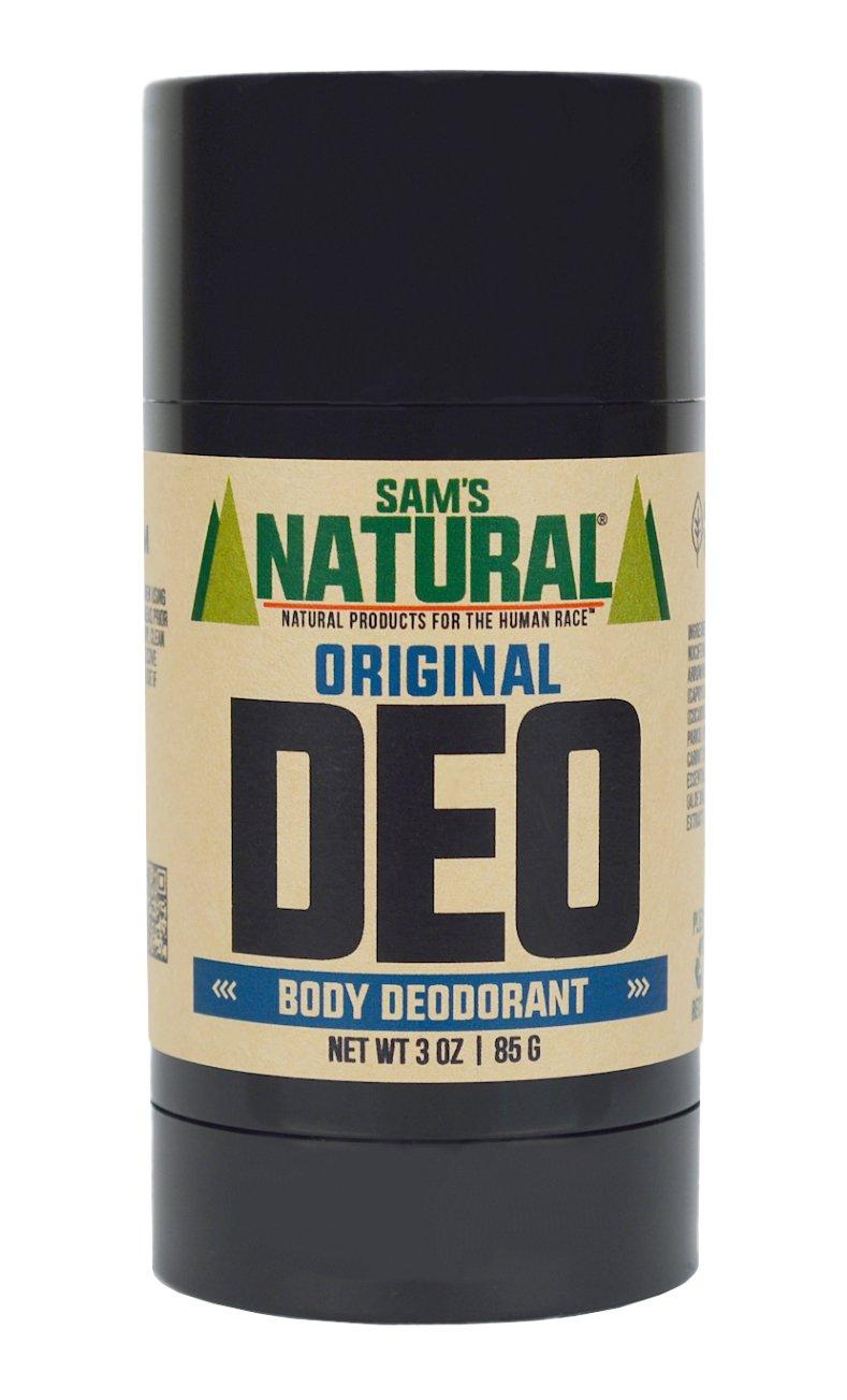 Amazon.com : Sam\'s Natural Deodorant Stick - Original, Aluminum ...