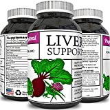 Milk Thistle Liver Support Supplement for Detox Antioxidant Benefits Digestive System Support Metabolism and Immune System Booster Turmeric Benefits Zinc Dandelion Root Artichoke Extract by Phytoral