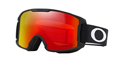 971b107b40 Image Unavailable. Image not available for. Color  Oakley Line Miner Youth  Snowmobile Goggles - Matte Black Prizm ...