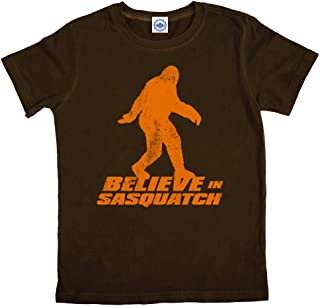 product image for Hank Player U.S.A. Believe in Sasquatch Boy's T-Shirt