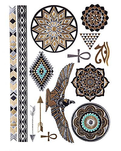 Tattoos, Skin tattoos, Egyptian Ornamente, skin Jewels, Trendy jewelry, YS-44 by LK Trend & Style (Lk Jewelry)