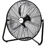 Utilitech 20-Inch 3-Speed High Velocity Indoor Portable Fan