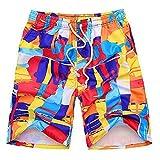 baqijian Summer Designer Beach Men Shorts Casual Mens Board Shorts Plus Size Printed Beach Shorts Men's Shorts 13 XXL