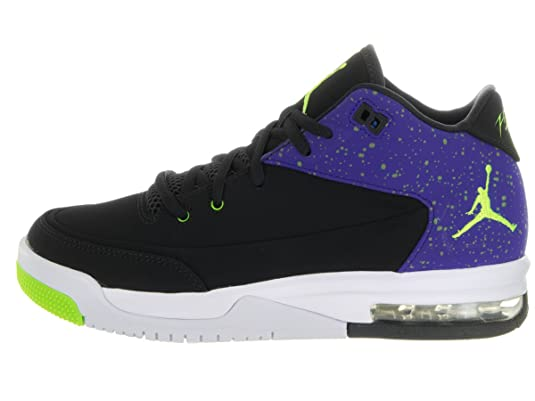 Amazon.com: Jordan Nike Kids Flight Origin 3 Bg Black/Electric Green Concord Basketball Shoe 6.5 Kids US: Shoes