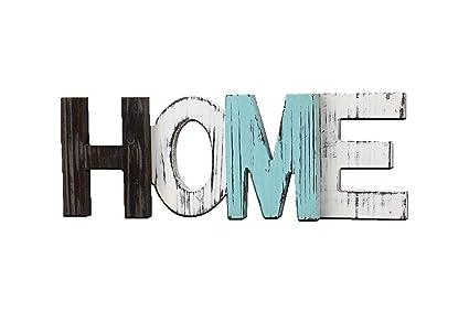 Amazon.com: Home Decorative Sign, Standing Word Decor Multicolor ...