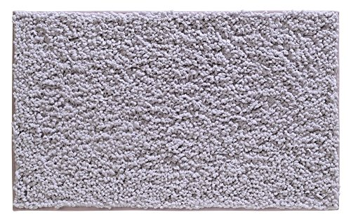 "mDesign Microfiber Chenille Bathroom Shower Accent Rug - 34"""