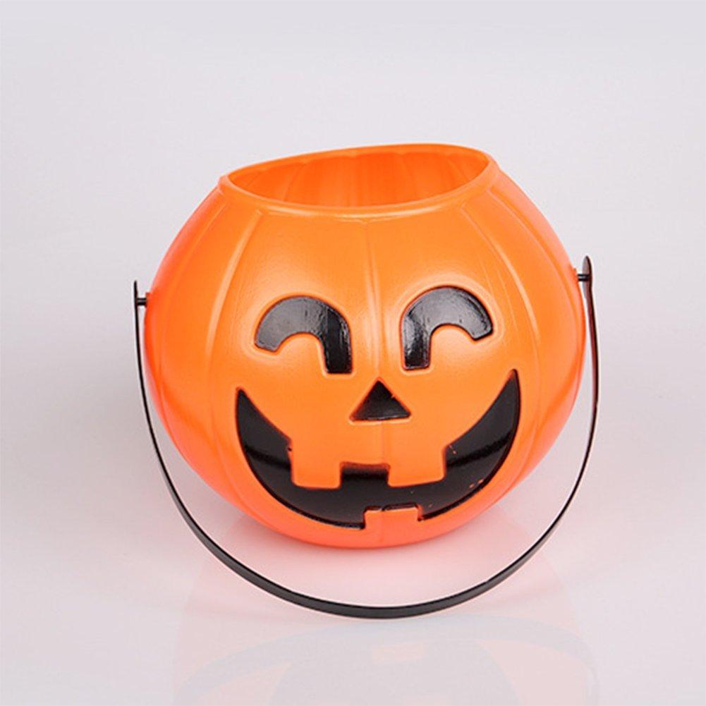 Nikgic citrouilles Plastique D/écoration bonbonnieres Halloween