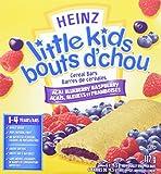 LITTLE KIDS Acai Blueberry Raspberry Cereal Bar, 19.5g, 6 Count
