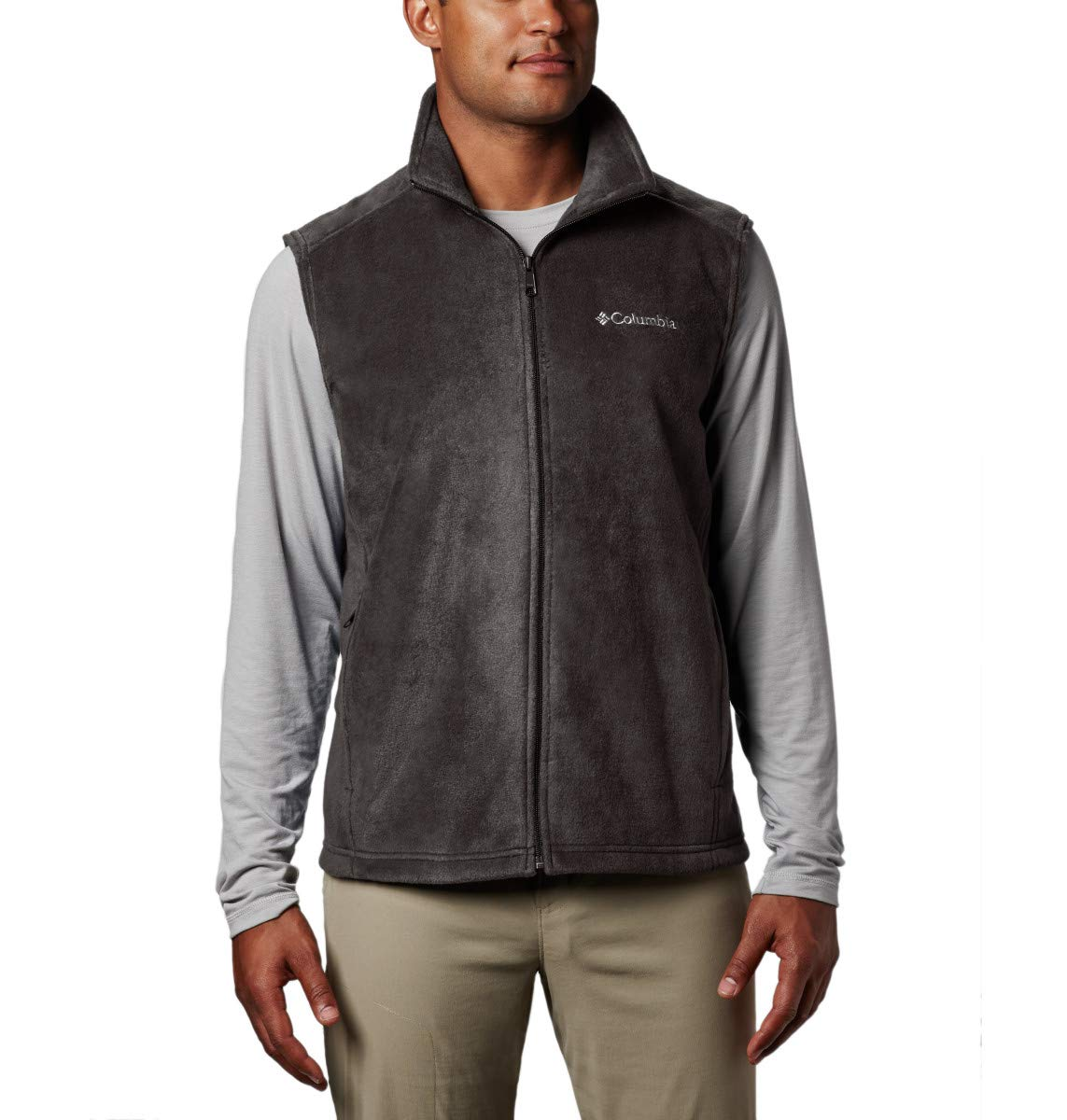 Columbia Men's Big and Tall Steens Mountain Big & Tall Vest, Buffalo, XLT by Columbia
