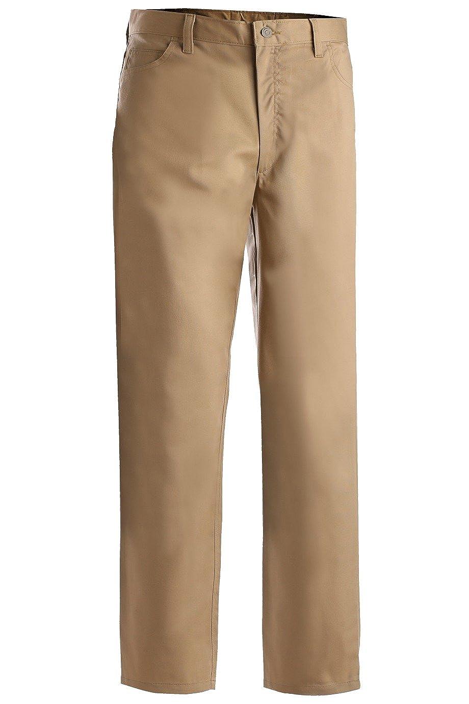 48 30 Edwards Mens Stretch Zipper Pocket Pant TAN