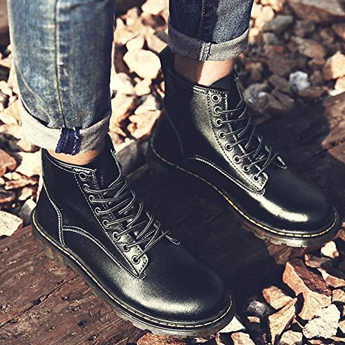 Terciopelo Seguridad Zapatos Resistentes Y Zapatillas Aire Agua Para Martin Libre Gran Botas Tamaño Deportivas De Black Botines Al Hombre Retro 11qxZrw