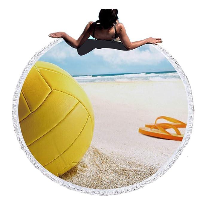 Meiju Toalla de Playa Microfibra,Mantel o Toalla de Playa ...