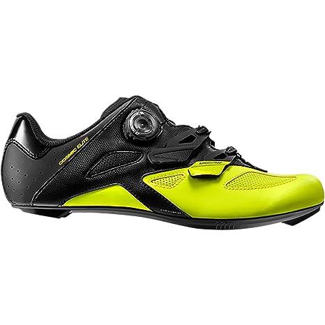 Mavic Cosmic Elite Unisex- Zapatillas - Amarillo/Negro Talla del Calzado UK 8 |