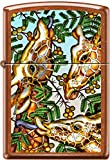 Zippo Giraffes Toffee WindProof Lighter Made in the USA NEW Rare