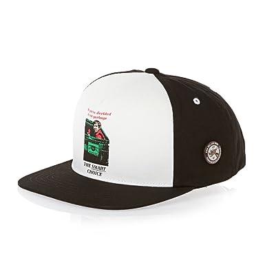 Amazon.com  Vans Men s Anti-hero Snapback Cap - Black white  Clothing 8eab96c866a