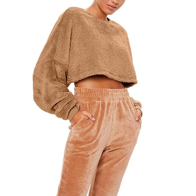 Sudaderas Cortas Sweatshirt Adolescentes Chicas Exponente Recortabornel De Ombligo Pullover Blouse Moda Mujer Venta Sudadera Casual Blusa Jersey OtoñO ...