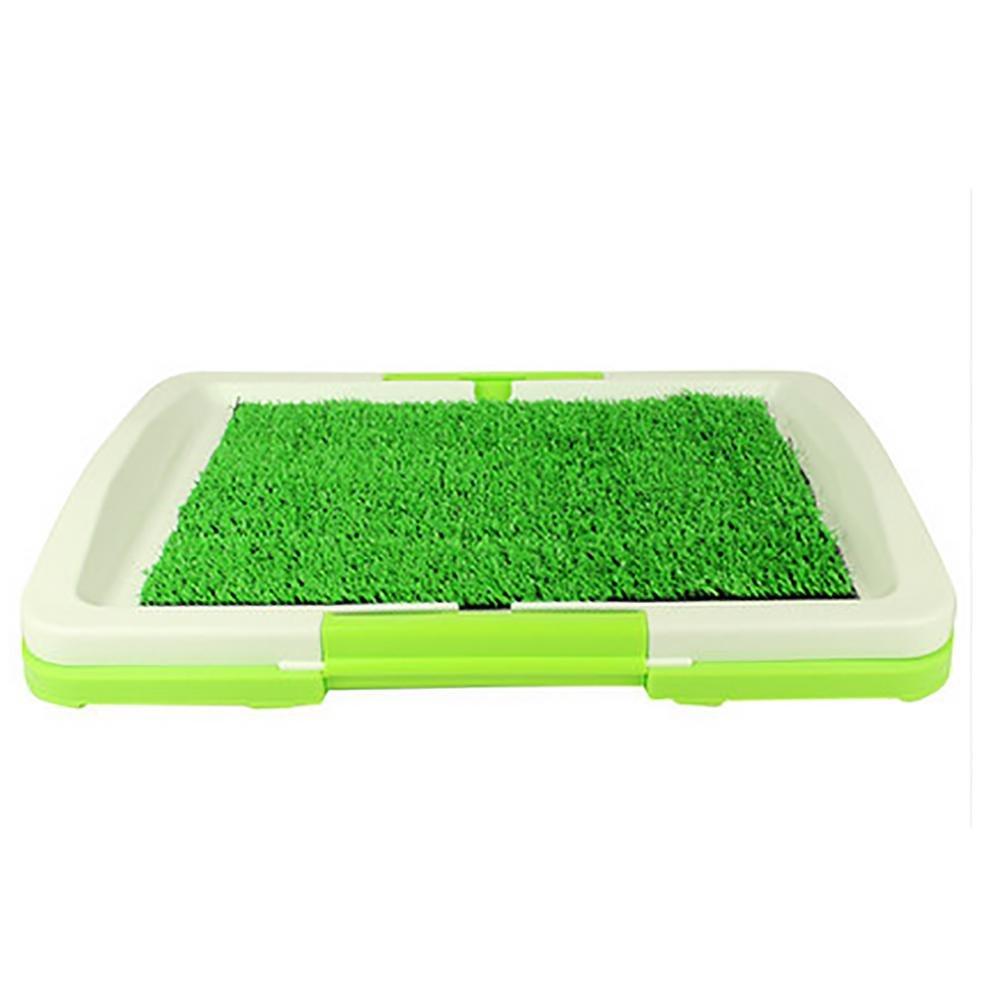 LYAQI Puppy Pads Indoor Potty Dog Grass Mat Training Pad Pet Potty Dog Training Pads Non-toxic Synthetic Grass