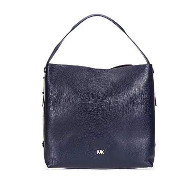 9d4be0ec5b2c MICHAEL Michael Kors Griffin Large Leather Shoulder Bag - Admiral  Handbags   Amazon.com