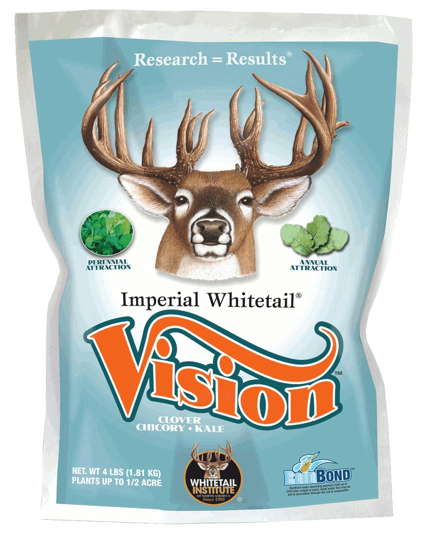 Whitetail Institute Imperial Whitetail Vision Food Plot Seed, 4 Pound by Whitetail Institute