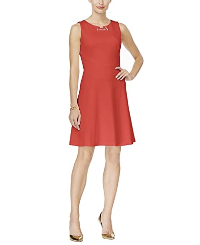Ivanka Trump Women's Ponte Sheath Toggle Dress