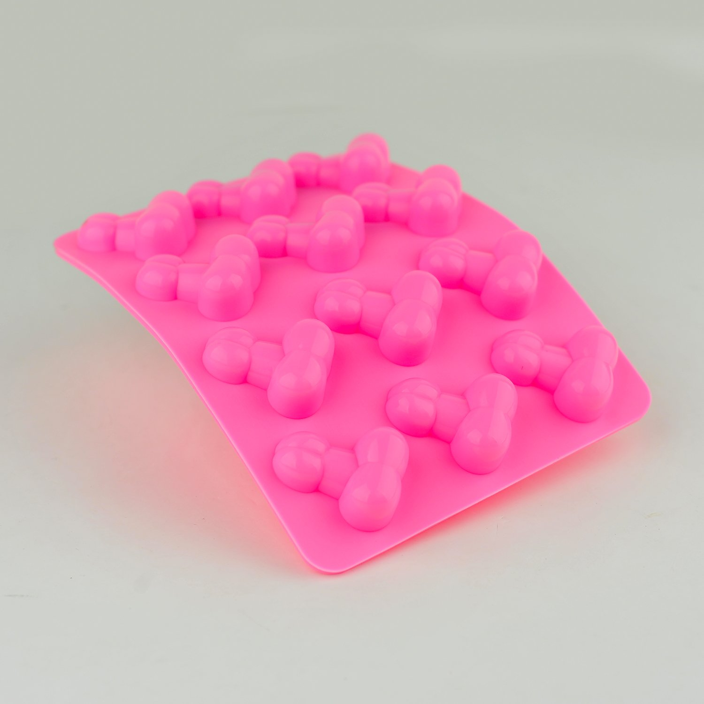 1 molde para cubitos de hielo o gelatina en forma de pene. Para despedidas de soltera: Amazon.es: Hogar