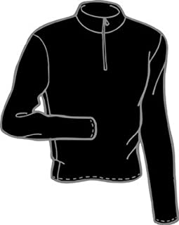 product image for Polarmax Men's 4-Way Stretch Long Sleeve Zip Mock Tee