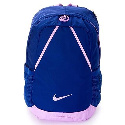 Nike Varsity Backpack - Mochila para Mujer, Color Azul/Morado, Talla única
