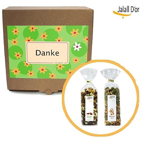 Weihnachtsgeschenke Für Mann Und Frau.Geschenkbox Danke Von Jalall D Or Paradies Futter Drachen Gold 2 Exklusive Trockenfrucht Nussmischungen Dankeschön Geschenk Mann Frau