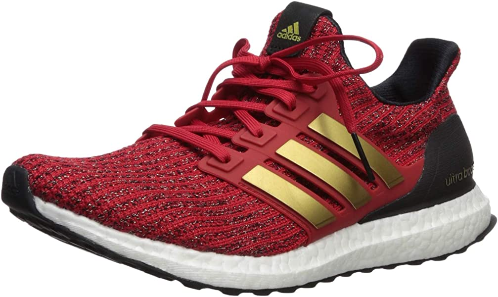 size 40 23fbf 64b13 adidas x Game of Thrones Women s Ultraboost Running Shoes, scarlet gold  metallic black