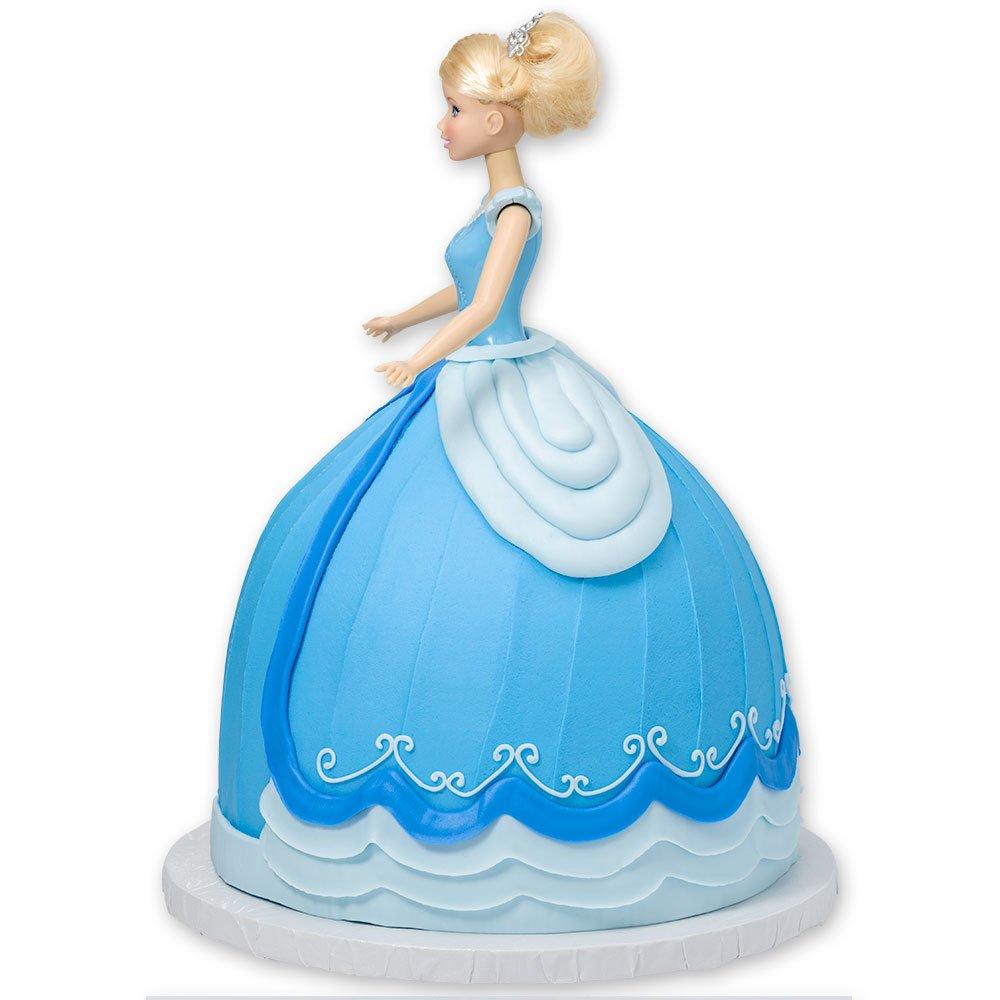 DecoPac Disney Princess Doll Signature Cake DecoSet Cake Topper, Cinderella, 11'' by DecoPac (Image #7)
