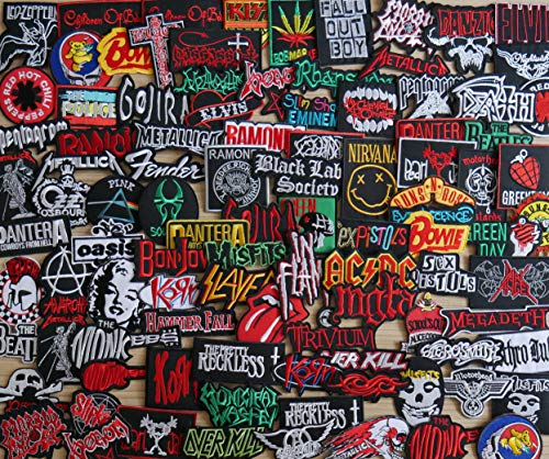 Iron On Patch - Sew Iron On Patch Wholesale Band Music Rock Metal Heavy Pop Punk Lot Set