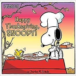 Happy Thanksgiving Snoopy Peanuts Jason Cooper Charles M